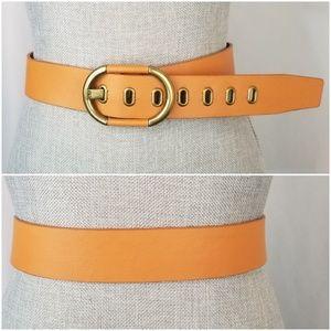 Calvin Klein Vintage Large Orange Belt